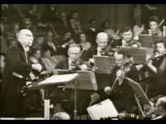 """A rare video of Igor Stravinsky conducting """"Lullaby and Final Hymn"""" from his Firebird Suite at the age of 82. Absolutely wonderful."""