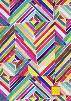 paper-cut stripes ~ Sisters Gulassa