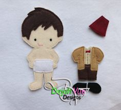 Non Paper Dolls offered by Stone House Stitchery Matt Doll Non Paper Doll ITH Embroidery Design