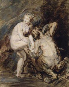 Jean-Honoré Fragonard - Nessus et Déjanire
