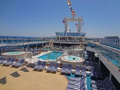 The Lido Deck on the Coral Princess.