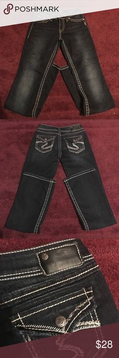 Silver Women's Jeans I bought these because I really liked them but they were snug then...even more so now. :/ ONLY WORN ONCE! Silver Jeans Jeans Boot Cut