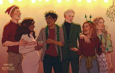 Romione, Drarry and LunaxGinny