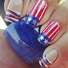 4th July nails!