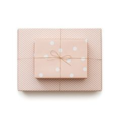 Sugar Paper Pale Pink Reversible Wrap ($8) ❤ liked on Polyvore featuring fillers, items, party, extra, gifts, wrapping paper, polka dot wrapping paper, stripe wrapping paper, striped wrapping paper and polka dot gift wrap