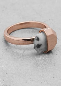 & Other Stories | Stone Ring