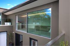 vitrocsa minimal large sliding glazed panel not Skyframe