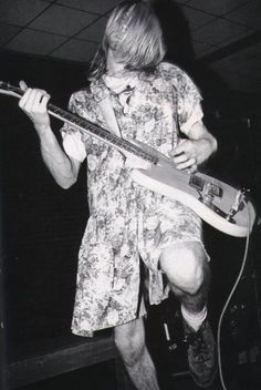 """""""Wearing a dress shows I can be as feminine as I want. I'm a heterosexual… big deal. But if I was a homosexual, it wouldn't matter either.""""  - Kurt Cobain"""