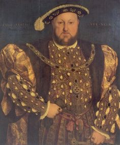 Henry at age 49, the age he married his fifth wife Catherine Howard, who was only about 16 or so.