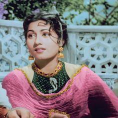 """Cinema ©: Madhubala in the film """"Mughal-e-Azam"""" Bollywood Posters, Bollywood Cinema, Indian Bollywood Actress, Beautiful Bollywood Actress, Most Beautiful Indian Actress, Indian Film Actress, Bollywood Actors, Indian Actresses, Rekha Actress"""