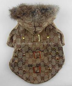 Gucci dog coat