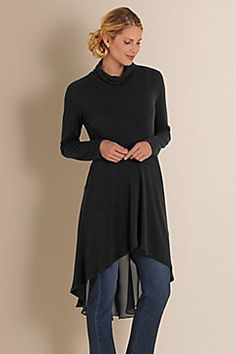 Women Crescent Moon Tunic