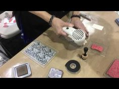 Ranger Ink Debbie Tlach Distress Oxide Tag - Craft Test Dummies video from #CHA2017 #Creativation