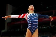 Aly Raisman Wins Gold (floor exercises)  #gymnastics