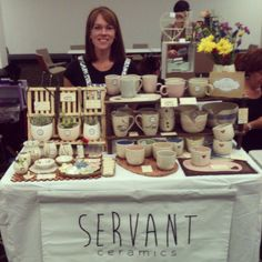 Our stall from the most recent market - BrisStyle's Indie Market at Brisbane City Hall