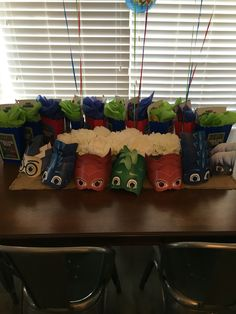 PJ Masks Party DIY