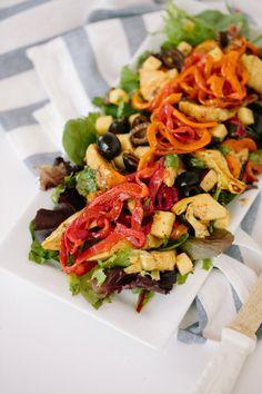 Super Foods — (Via: fattributes.tumblr.com) Spiralized Bell...