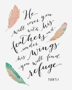 Find refuge in HIM.