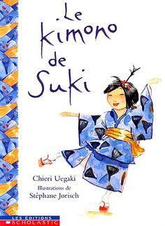 Livres Ouverts : Le kimono de Suki