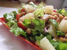 Rețetă Antreuri : Salata cu naut  si peste afumat(chickpea &smoked fish salad) de Alisons