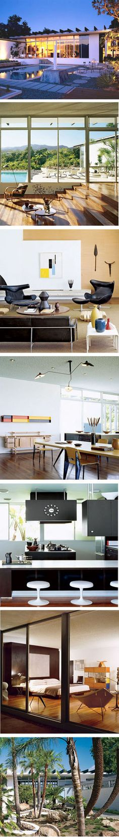 1963 Strick House, Santa Monica, California, USA, by Oscar Niemeyer