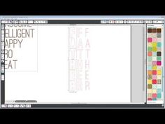 Great tutorial on How to Thicken and Customize Fonts in Silhouette Studio - YouTube