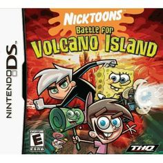 Amazon.com: Nicktoons Battle Volcano: Nintendo DS: Video Games