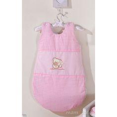 MAMO-TATO - Sac de dormit Ursulet si Iepuras Roz Bag
