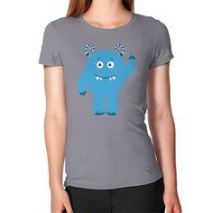 Women's T-Shirt - Monster Blue