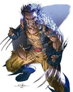 Wolverine X-Men Marvel Comic Book Characters, Marvel Characters, Comic Character, Comic Books Art, Comic Art, Book Art, Hq Marvel, Disney Marvel, Marvel Heroes