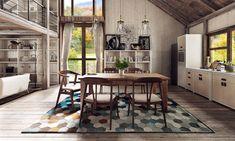 Claves para acertar en la elección de la alfombra para el comedor y darle un toque especial y original a esta importante estancia de la casa.