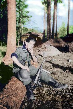 Spanien Blaue Division, Spanish Blue Division soldier) 1941 - 1943