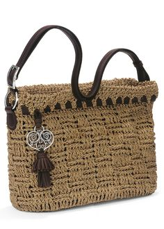 Marston crochet bucket -- too cute!  May have to have this to go with my Brighton collection!!