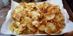Ropogós házi chips, villámgyorsan! Sós, fokhagymás, paprikás, bármilyen lehet!