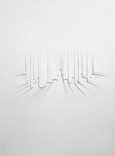Franz Riedl | Stadtraum, 2013 | paper relief