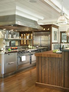 A Chef's Dream Kitchen | Professional chef, Kitchen design and Hgtv