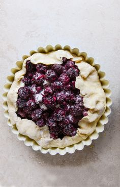 This five-ingredient blackberry pie can be made with store-bought crust or homemade.