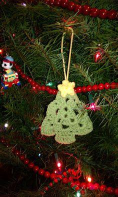 Crochet Granny Christmas Tree - Tutorial ❥ 4U // hf