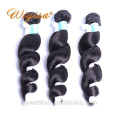 Best quality raw unprocessed virgin hair loose wave style hair from indian hair vendor