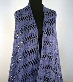 Crochet Lace Prayer Meditation Shawl Scarf Wrap #Mothers_Gift #Teachers_Gift Free Shipping by peacefulpath, $100.80