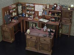 Mad Scientist's Lab | A 1/6th scaled mix of scratch-built ba… | Flickr