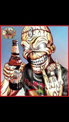 """Iron Maiden """"The Trooper"""" Beer"""