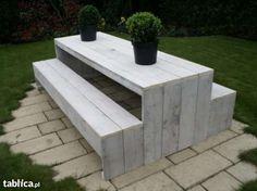 Meble ogrodowe drewniane 01, producent Plecka Dąbrowa - image 1