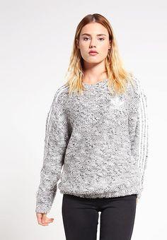 adidas Originals Sweter - black/white za 419 zł (25.11.16) zamów bezpłatnie na Zalando.pl.