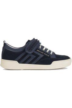 Mooie Philipp Plein Sneaker (blauw) Heren sneakers van het merk philipp plein . Uitgevoerd in blauw.