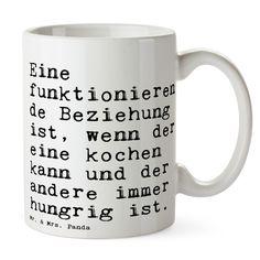 Bedruckte Tasse mit Spruch über Beziehungen / the relationship coffee mug with funny saying made by Spruchreif via DaWanda.com