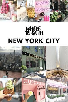 New York City Travel Guide. Where to go in New York City - perfect NYC girls weekend guide to places to each, where to shop and what to do. Includes some of the most Instagram-friendly NYC spots!