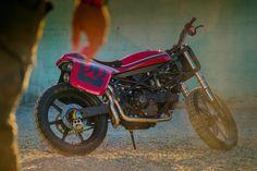 Das Motorrad: VW designer builds a street tracker | Bike EXIF