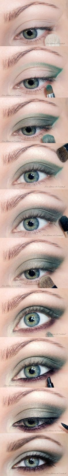 Emerald Smokey Eyes - Eye Make Up Tutorial
