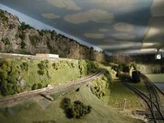 How to Add Back Drops to Your Model Train Layout…